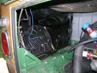 Extra Oil Cooler on James Bus