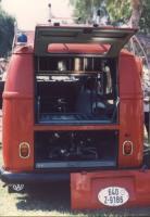 Fire Panelvan