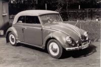VW Käfer Cabrio 1954