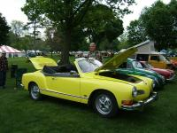My ghia at the Michigan show