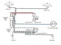 Emerg Flasher & Turn Signal Wiring Diagram