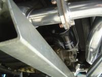 Filter pump and merged header