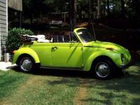 73 Love Bug Convertible