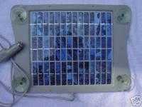VW OEM solar trickle charger panel
