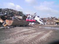 In the scrap heap