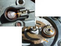 Fuel Sender Connection Closeups