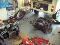 engine swap day