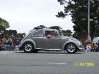 Dave Cormack at the Crescent City 4th of July parade