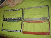Vintage Vw Dealer Frames