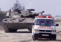 Palestinian Eurovan ambulance
