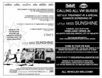Little Miss Sunshine VW Bus Event Poster