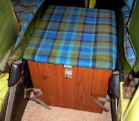 Westfalia storage box, straps, brackets