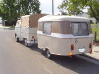 Our Double Cab and Eriba Puck