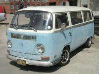 EX-CALIFORNIAN MICRO-BUS NOW IN SHEFFIELD ENGLAND