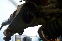 Bus 73 rear  bearing job