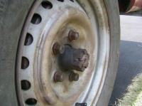 VW axel length Left side