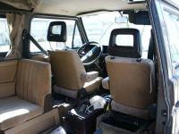 85 weekender interior, front