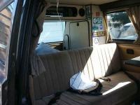 85 weekender interior, back