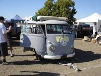 '57 Bus in the swap meet