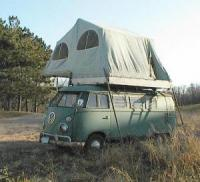 Cool rooftop tent