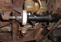 Bay M/C and Biondo line lock instal on my '60 Single