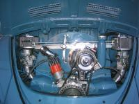 1961 sunroof project- engine detail