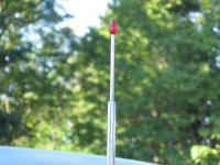 Red tip antenna