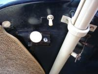 '53 Convertible - front trunk lock detail