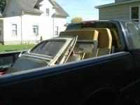 one last pickup full of parts out of the zearing, iowa yard...