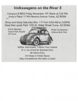 Yuma show flyer