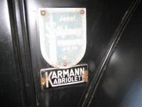 German dealer tag on the 54 vert