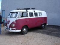 '64 Bus that was for sale at the show