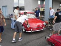 Pushing a red Notchback