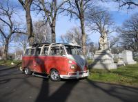 Cemetery bus