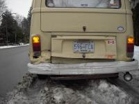 my bus got hit!