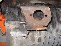 aircooled vanagon slave cyl bracket