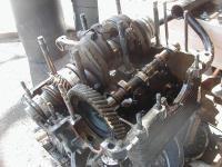 Engine opened up