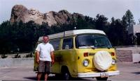 Me and my Pickle at Mt. Rushmore '00