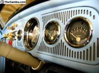 VW Dash grills