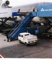 airport service vehicle-amsterdam