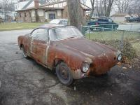 Pulled the 56 Lowlight Ghia Out From Behind The Garage