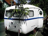 Westfalia caravan 1958