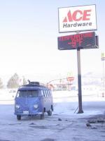 Very cold morning in Utah