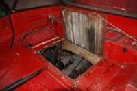 Tranny access hatch