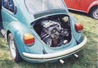 Golf engine in beetle