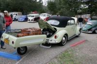 Convertible Bug and Allstate Trailer