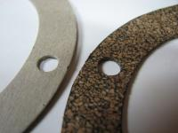 Sump plate gaskets close up