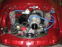 Type 4 engine in a Ghia