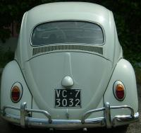 other photos of 1962 bug stolen in Pise, Italy