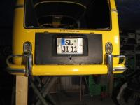 Now got my split licenseplate and bumper with 911 6pack